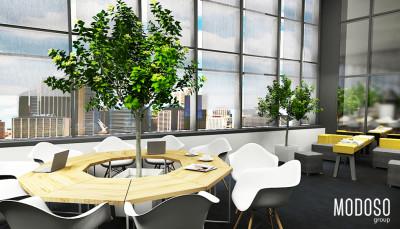 SANOFI AVENTIS – Projekt biura
