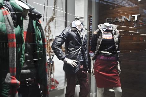 GANT – projekt sklepu w Złotych Tarasach