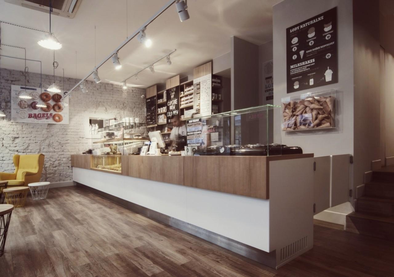 Projekt cukierni i kawiarni