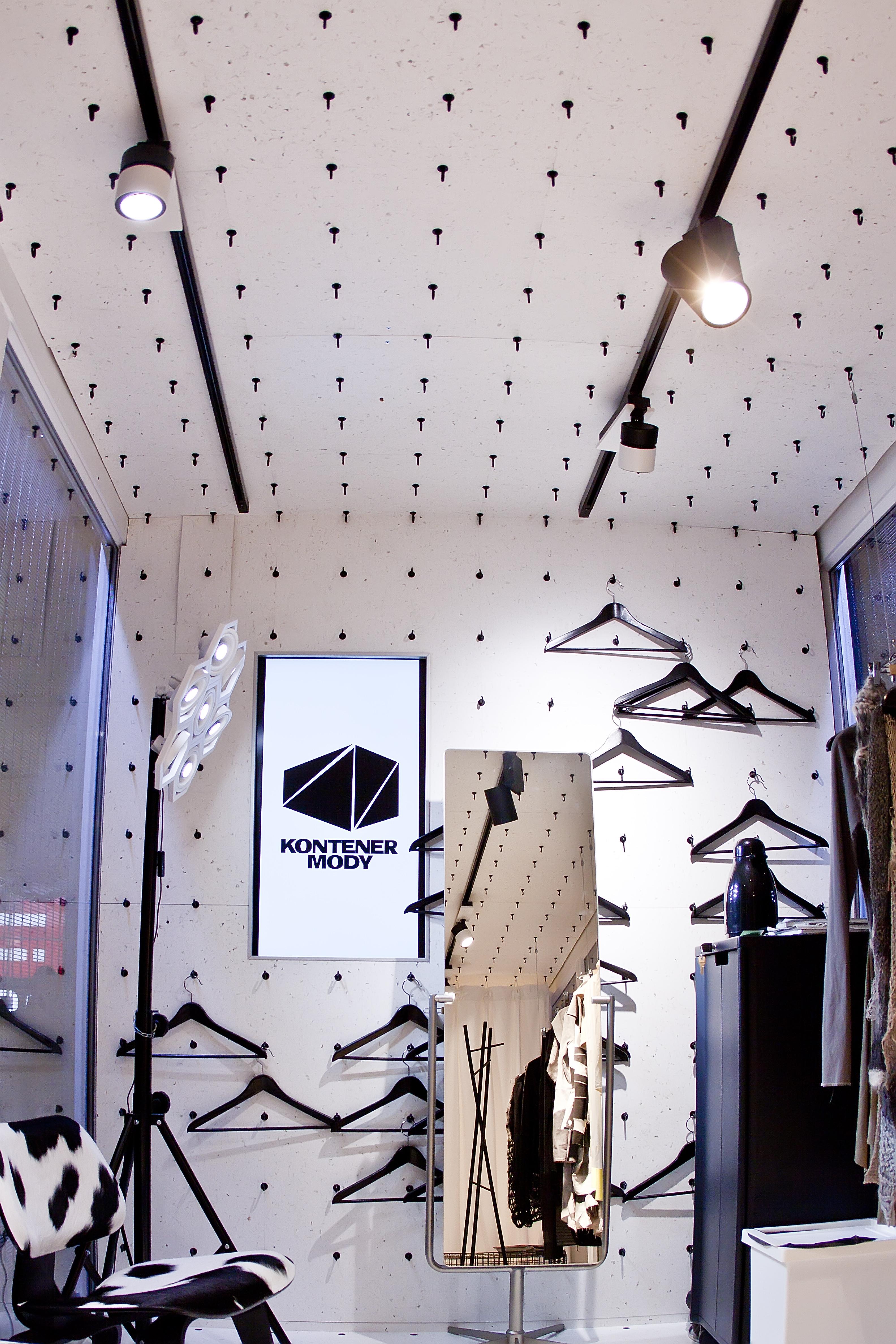 Kontener Mody – projekt budynku w przestrzeni miejskiej