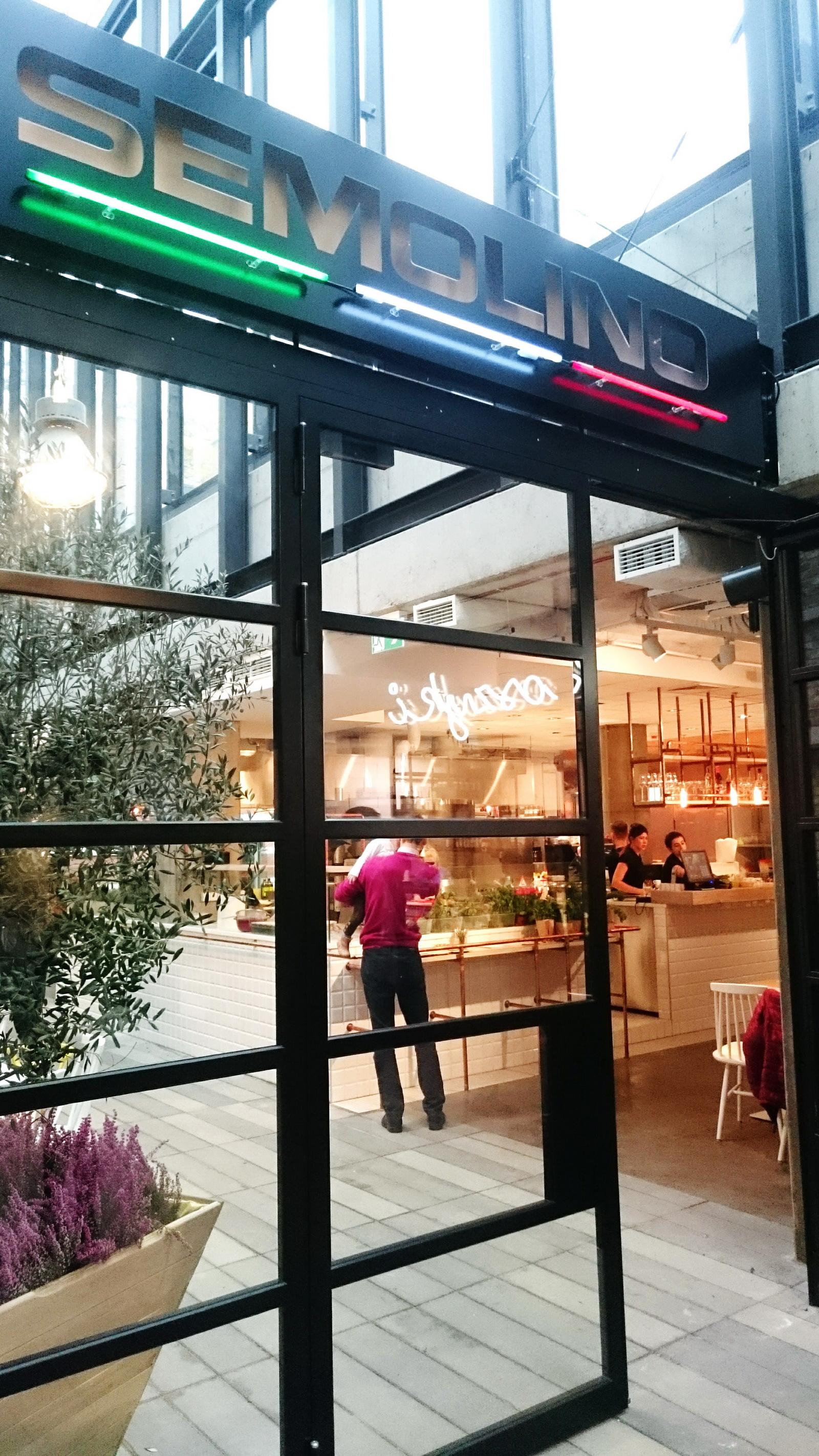 Semolino – Restauracja w Hali Koszyki