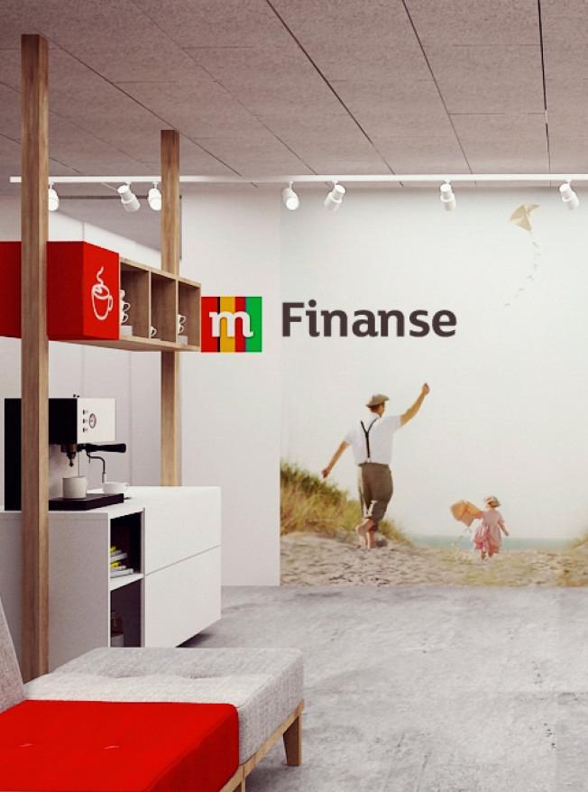 Projekty biur mFinanse dla grupy mBank.