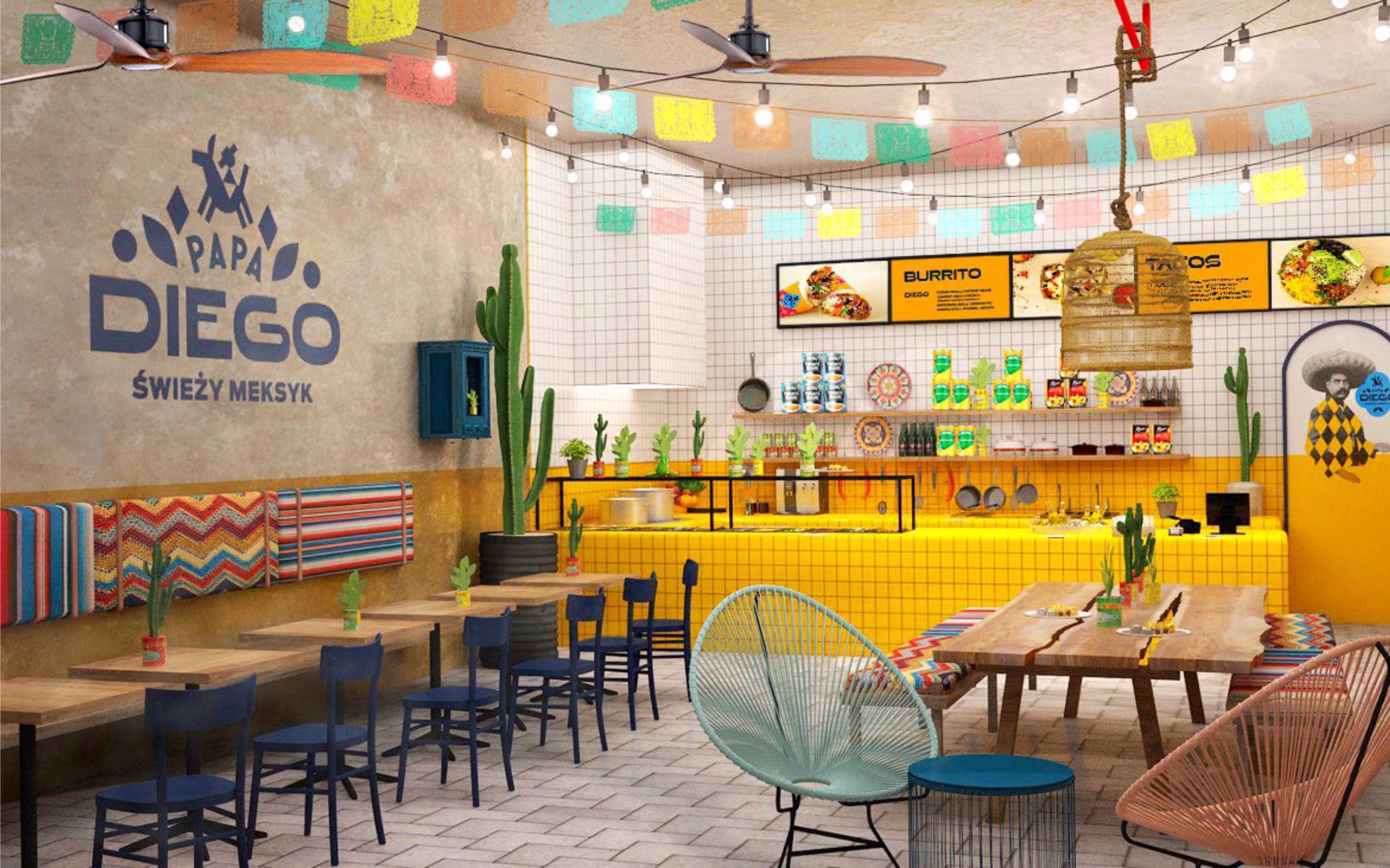 Papa Diego – koncept sieci z kuchnią meksykańską.